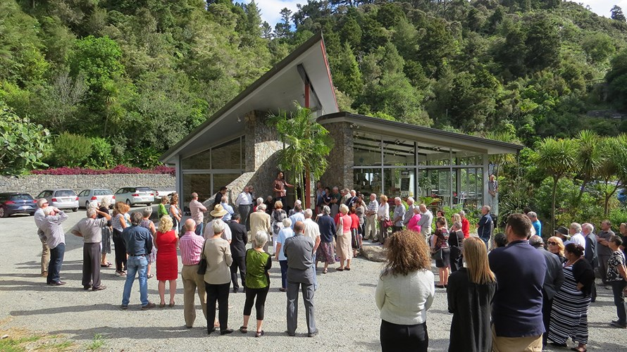 Visitors Centre Opening LR